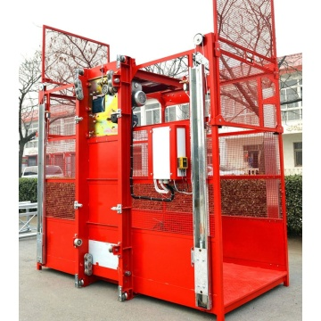 SC200/200 building hoist materials lifting equipment