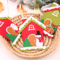 Xmas Knife and Fork Sleeve Christmas Decorations for Home Cristmas Ornament Happy New Year 2021 Decoration Natal Noel Navidad