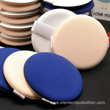 0.35mm thickness Pu leather for makeup powder puff