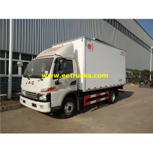 JAC 120hp Refrigerated Van Trucks