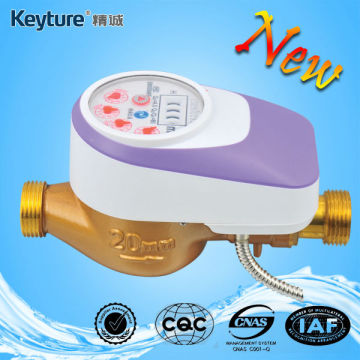 Purplecolor Direct Reading Remote Valve Control Water Meter