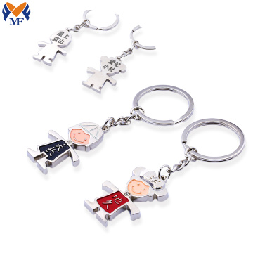 Metal custom keychain with your own design