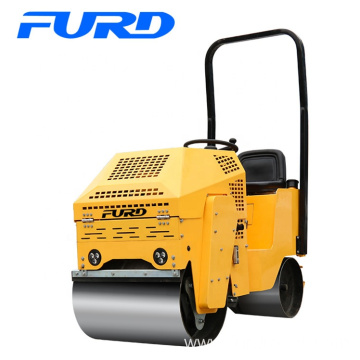 1000kg Hydraulic Motor Small Vibratory Compacting Asphalt Roller