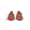 Special Red Bowknot Christmas Baby Sandals