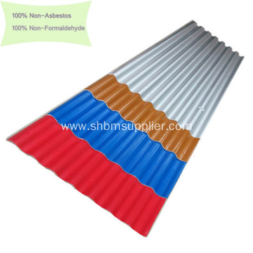 100% Non-asbestos Anti-Aging MGO Roof Sheets