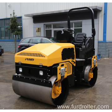 Construction Road Roller Double Drum Vibratory Road Roller Compactor Machine FYL-1200