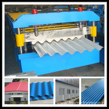 Metal Corrugated Panel Roll Forming Machine