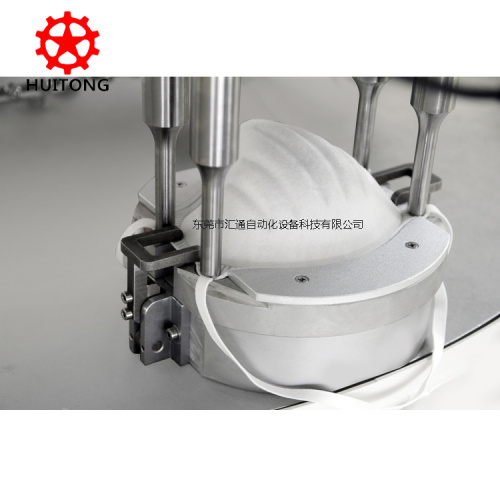 Automatic FFP2 Certified cup mask making machine