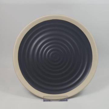 Stoneware Ceramic Thread Plate