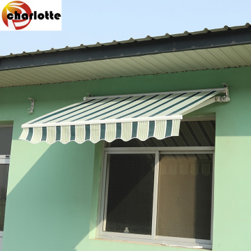 Charlotte outdoor sun shade manual window awning
