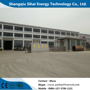 Large Capacity Pyrolysis Plant for Waste Tires