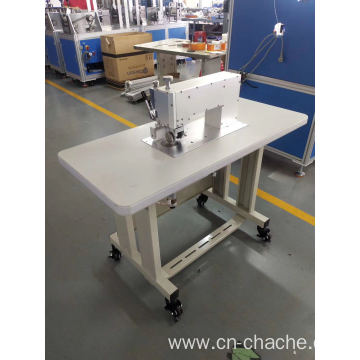 ultrasonic sewing machine for protective suit