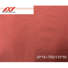 Cotton elastic fabric 20*16+70D/135*50 57/58'' 237gsm
