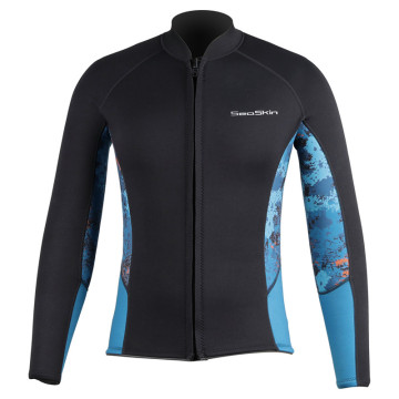 Seaskin Chest Zip Jako Neoprene Wetsuits Top