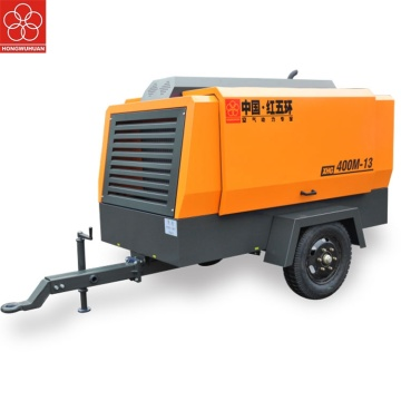 portable diesel screw air compressor for sand blasting