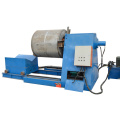 Hydraulic decoiler with straightening machine