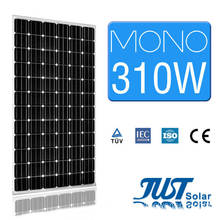 A Grade 310W Monocrystalline Solar Power Panel with Stock Goods