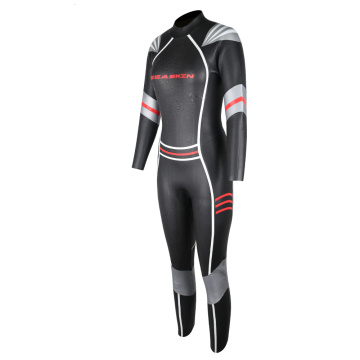 Seaskin Women's Smooth Skin Back Zip Triathlon Wetsuits