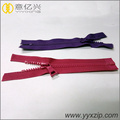 Open End Plastic Molded Zipper with Dynamic Teeth
