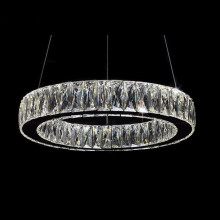 ajustable decorative led crystal hanging chandelier