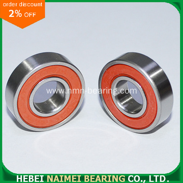 6001-2RS 6001-ZZ Radial Ball Bearing 12X28X8