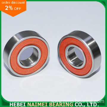 Red Color 6002-2RS Ball Bearing