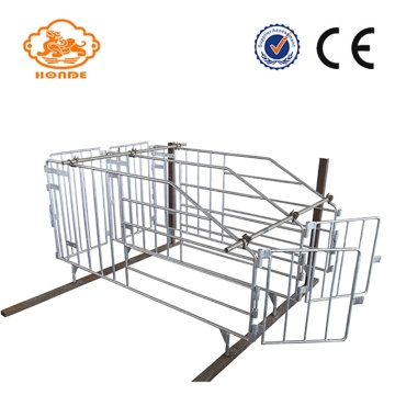 Galvanized Q235 Steel Gestation Stall For Pigs