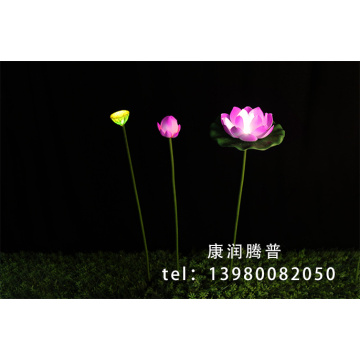 Outdoor  Landscape Lotus  Lights