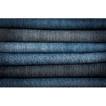 Knitting And Sewing Washed 8oz Denim Fabric