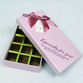 Fancy Heart Shaped Chocolate Box Packing