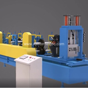 CZ light weight steel frame machine