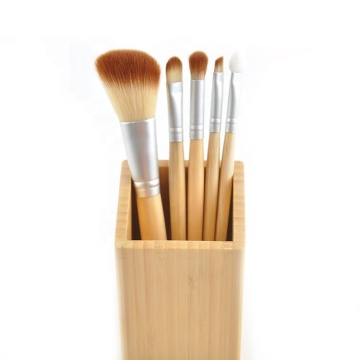 5 Stück Beauty Tools Make-up Pinsel Set