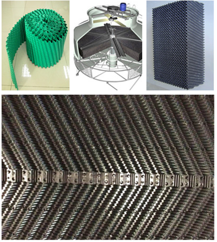 PVC Fillings For Cooling Tower