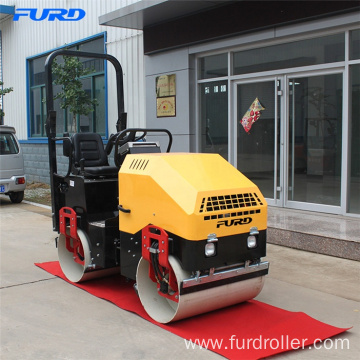 FYL-900 Mini Vibratory Road Roller Compactor With Hydraulic Drive