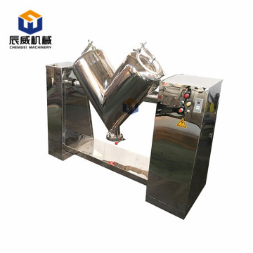 v shape type food powder mixer