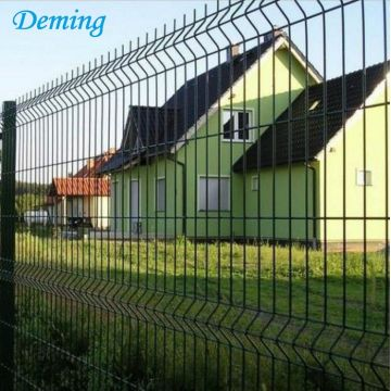 Metal wire high security fence systems