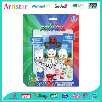 PJMASKS Paint Your Own Masked Hero activity set