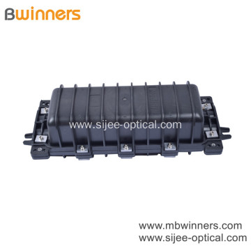 Fiber Splice Box Horizontal Type 2 Inlet 2 Out Up to 144 Cores