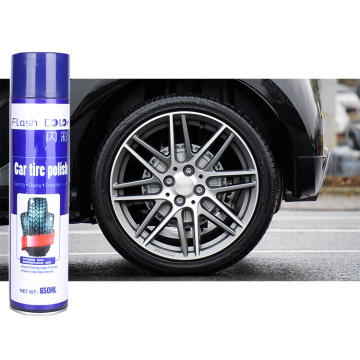 Auto Tire Polish Spray Foam Cleaner