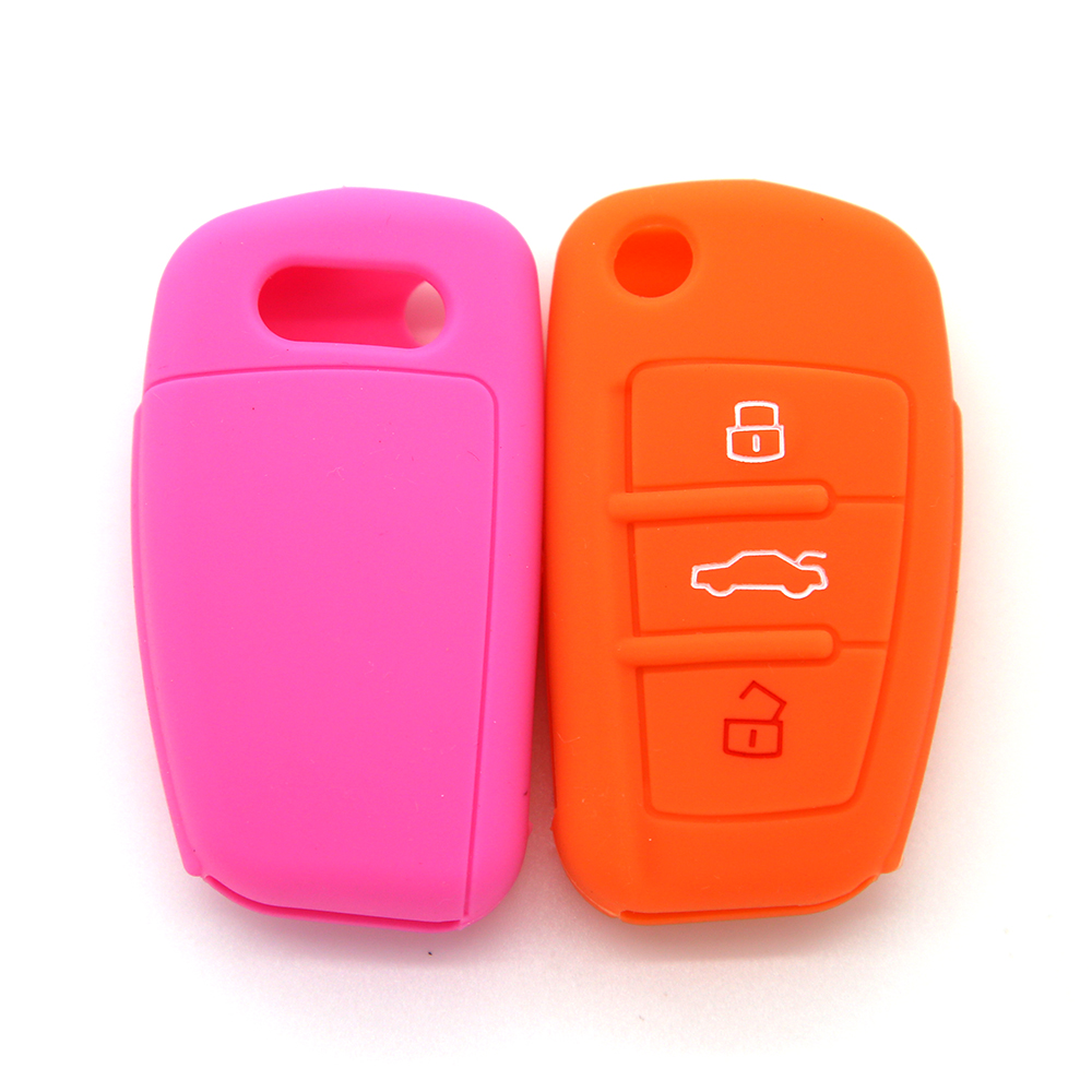 audi silicon key shell