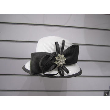 Ladies' Poly Braid Derby Suit Hats
