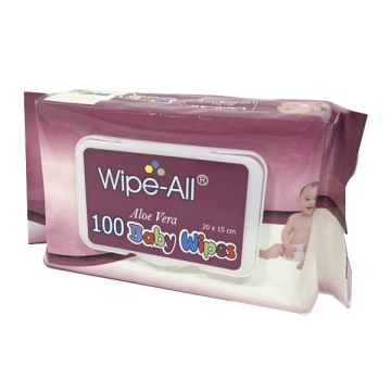 Baby Production Line Machinery Push Clean Wet Wipes