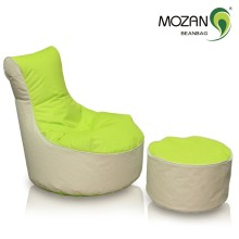 100% polyester lazy boy lounger bean bag