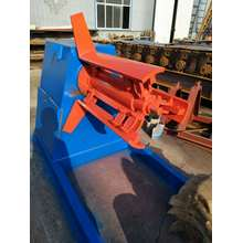 metal wall roof panel hydraulic decoiler