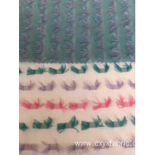 polyester carved pile fabrics