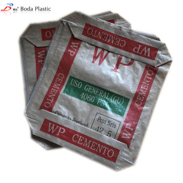 50kg Block bottom valve bag for portland cement