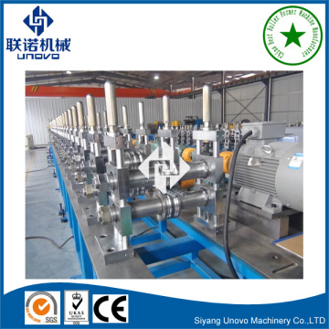 Warehouse shelf storage rack roll forming machinery