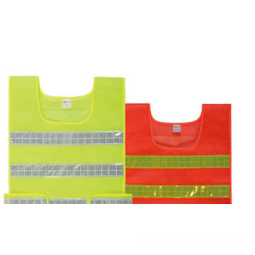 Sleeveless Reflective safety cloth