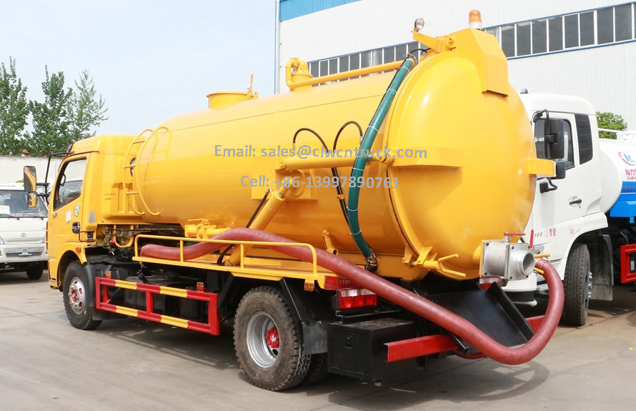 Waste Suction Truck Price