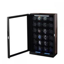 Black 24 Rotors Watch Winder Rolling